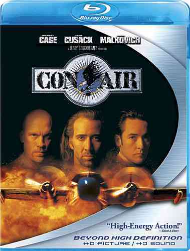CON AIR BY CAGE,NICOLAS (Blu-Ray)